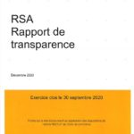 Rapport transparence 2020